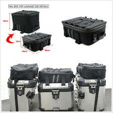 Black Motorcycles Tail Case Top Bag For BMW R1200GS R1250GS GS 1200 LC Adventure