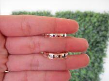 .05 Carat Diamond Twotone Gold Wedding Ring 14k WR123 sep