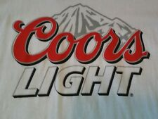 Coors Light Gildan Mens T Shirt Size Large- Lot M83