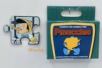 New Disney Parks 2020 Pinocchio Chaser Mystery Box Puzzle Pin LE 500