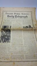 More details for english public school daily telegraph illustrated supplements 1932