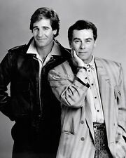 "Scott Bakula & Dean Stockwell In ""Quantum Leap"" - 8X10 Publicity Photo (Fb-020)"