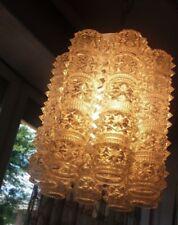 Lampadario tubolari murano tipo Venini/Chandelier vintage tubular