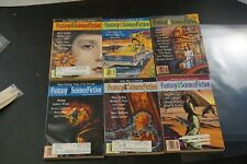 Fantasy and Science Fiction 1990's Lot of 6 Issues