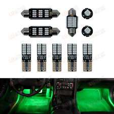 GREEN Premium Interior LED Kit - Fits Audi Q5 - Bright SMD