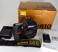 Nikon D810 DSLR Body, Top Zustand, Profi-Kamera, Gut behandelt.