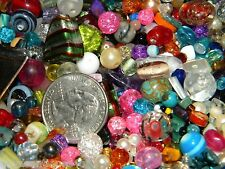 NEW 1/2 Lb  MULTI-COLOR 6-15mm MIXED LOOSE BEADS LOT Pearls, Gem, Stone GLASS