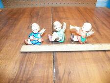 "Vintage GOEBEL HUMMEL Figurines 3 Pc ""ANGEL TRIO"" 238A 238B 238C"