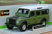 LAND ROVER DEFENDER 110 1:32 Car Metal Model Die Cast Models Diecast Green