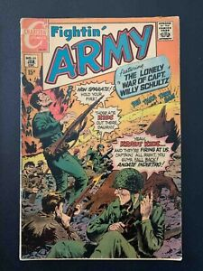 FIGHTIN' ARMY #89 CHARLTON COMICS 1970 VG  RE-STAPLED