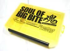 Evergreen Tackle Box Large Yellow Soul of Big Bite 255 x 190 x 60 mm (2550)