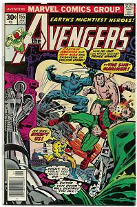 AVENGERS#155 VF/NM 1977 MARVEL BRONZE AGE COMICS