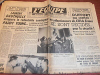 L'EQUIPE BOXE LAURENT DAUTHILLE / PADDY YOUNG  ANNÉE 1950