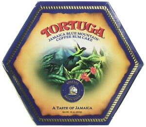 Tortuga Rum Cake Blue Mountain Coffee ( 1lb ) 454G Imported from the Caribbean