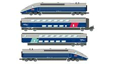HS Jouef HJ2362ACS  Elektrotriebzug  4 teilig TGV Euroduplex SNCF Wechselstrom