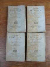 SAINT JURE / L'HOMME RELIGIEUX Perisse Ruffet 1867 4 volumes