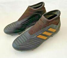 Adidas Predator 19.3 FG Black Laceless Football Boots - UK Size 8.5