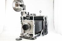 Graflex Speed Graphic 4x5 Camera W/Ektar 127mm F4.7 Lens from Japan #1505