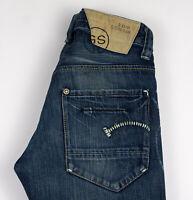 G-Star Brut Hommes 3301 Slim Jean Taille W31 L34 ALZ294