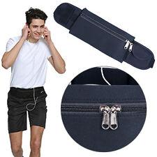 Men Women Running Travel Pouch Fanny Sports Waist Belt Bag Case Phone Holder