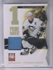 2011-12 Elite Prime Number Jerseys #6 Mario Lemieux/100* Jersey