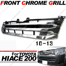 Narrow-Body Chrome Front Grille For Toyota Hiace 200 Series 3 Type 2010-13