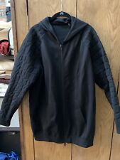 Alexander Wang X H&M Men's Size M Hooded Zip Jacket Black MADE IN ITALY
