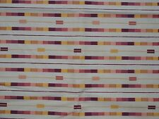 AUTUMN HAZE by Linda Birtel for Robert Kaufman, Golden Tone Stripes on Tan, 1yd
