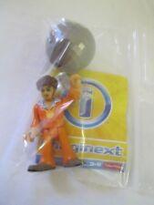 Imaginext Series 7 Blind Bag DISCO DANCER MAN GUY Silver Ball Loose Toy Figure