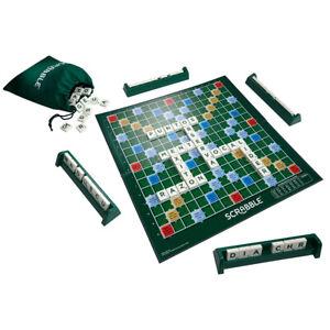 Mattel Games Scrabble original, juegos de mesa (Mattel Y9594)