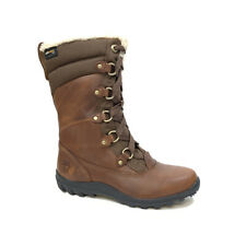 Timberland Women's Mount Hope Leather & Fabric Waterproof Snow Boots 8710R