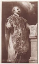 Art Postcard - Ignatius Loyola - [Rubens] - Warwick Castle Collection   ZZ2196