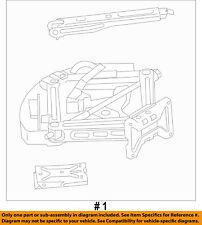 FORD OEM 11-15 Explorer REAR BODY-Jack Assembly BB5Z17080B
