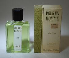 CARON POUR UN HOMME AFTER SHAVE 100 ML SPLASH OLD FORMULA PRE BARCODE