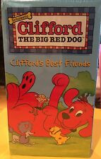 Brand New Clifford The Big Red Dog, Clifford's Best Friends VHS, 2000