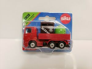 Siku 0828 Recycling-Transporter 1/64 Red