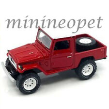 JOHNNY LIGHTNING JLCP7028 1980 TOYOTA LAND CRUISER 1/64 OPEN & SPARE WHEEL RED