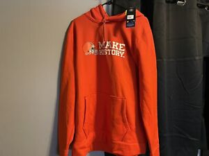 New With Tags Under Armour Cleveland Browns Hoodie XL - XStorm Water Resistant