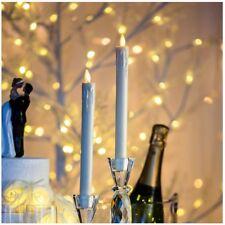 Set 2 candele 2,3 cm avorio gocce LED CLASSIC fiamma movimento LOTTI IMPORTEX