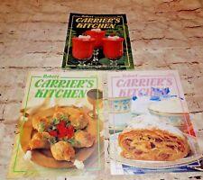 3 Vintage 1980's Robert Carrier's Kitchen Recipe Cookbook Magazine # 37 39 40