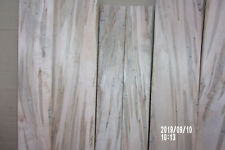 AD Ambrosia Maple Beetle Striped Maple Table Top Bench Resaw Craft Shelf Boards