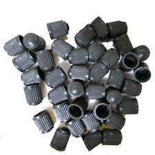 50Pcs Car Auto Truck Wheel Tire Valves Air Dust Covers Stem Cap Black Plastic