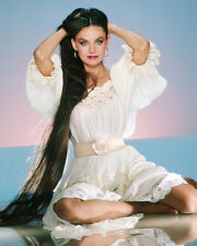 Crystal Gayle Close Up Busty Looking In Mirror Sexy Underwear 8x10 Photo