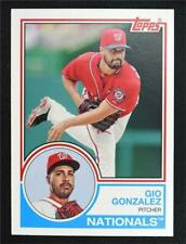 2015 Topps Archives #266 Gio Gonzalez - NM-MT