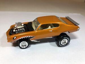 Rare Orange Johnny Lightning Zingers Street Freaks 1971 71 Pontiac GTO Hot Rod !