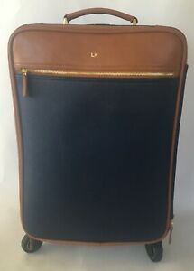 Mark Graham 100% Polyester LK Wheeled Traveling Leather Bag C1