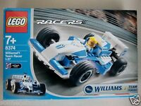 LEGO 8374 WILLIAMS F1 TEAM RACER 1:27 AUTO RACERS 7+ PULL BACK MOTOR NEU RAR