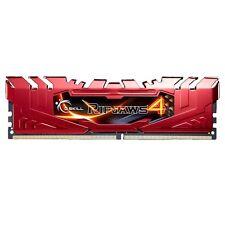 G.SKILL 8GB (8GB X 1) DDR4 2400MHZ RIPJAWS 4 F4-2400C15S-8GRR