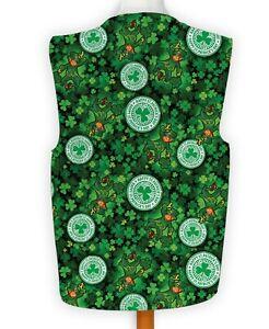 Happy St Patricks Day Shamrock Leprechaun Fancy Dress Waistcoat