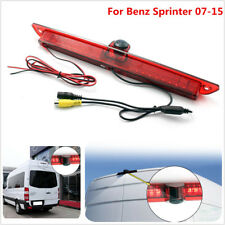 Rear View Parking CCD Backup Cam W/ LED Brake Tail Light For Benz Sprinter 07-15